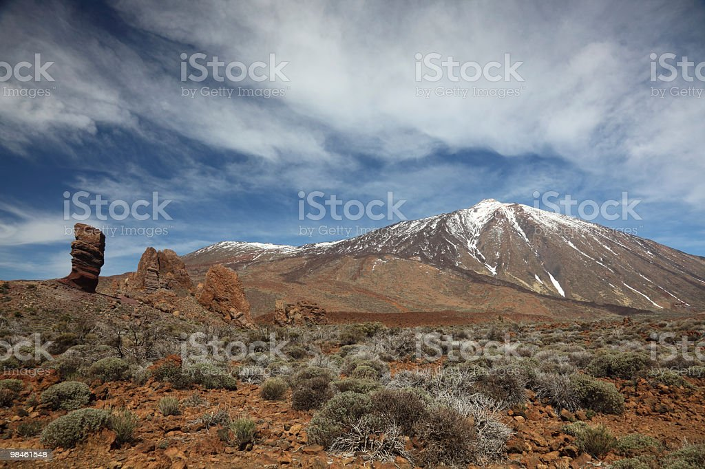 Teide, Tenerife royalty-free stock photo