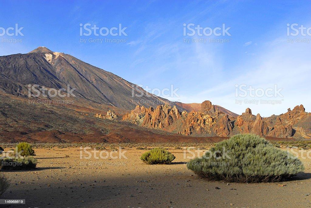 Teide volcano,Canary island stock photo