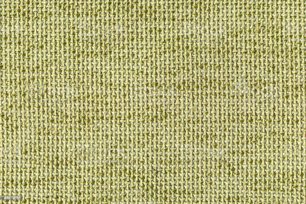 Tejido rustico verde (textura) royalty-free stock photo