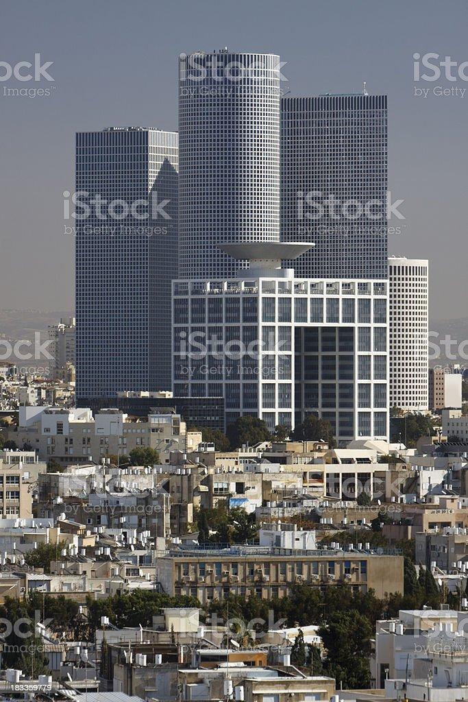 Tel Aviv Azrieli Center royalty-free stock photo