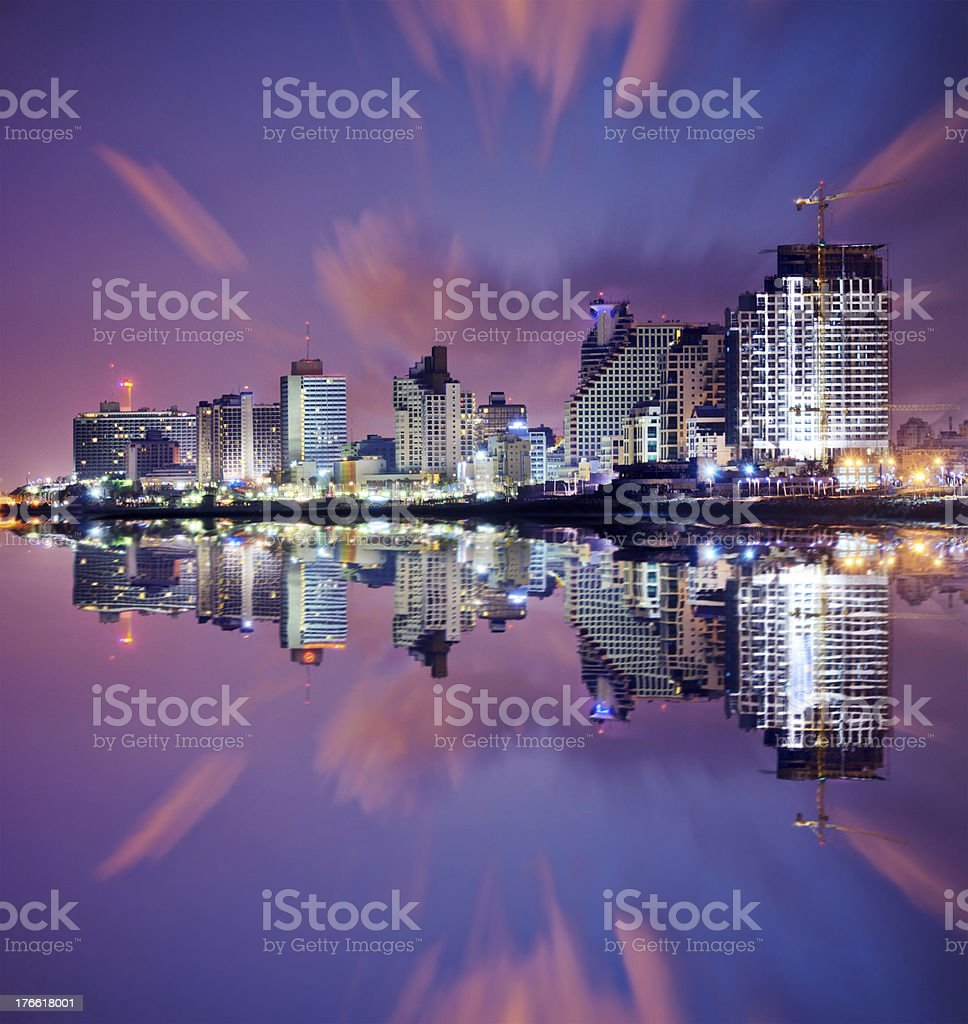 Tel Aviv Cityscape stock photo
