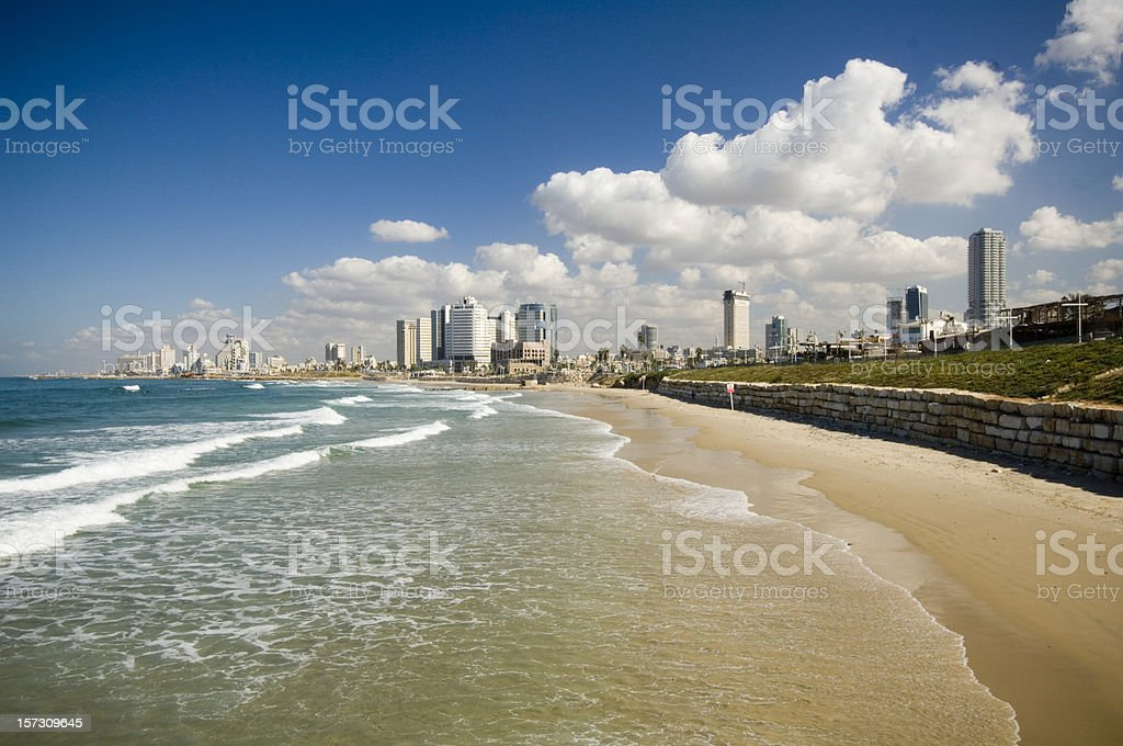 Tel Aviv royalty-free stock photo