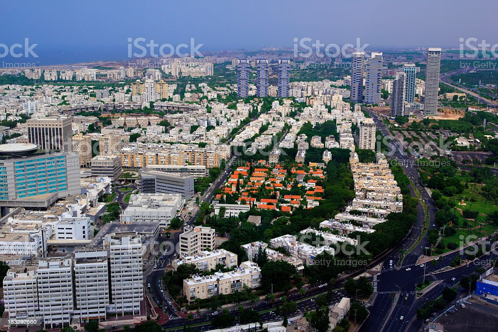 Tel Aviv royalty-free stock photo