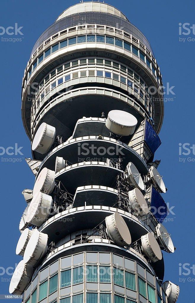 BT Telecom Tower, London stock photo