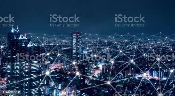 Telecommunication network above city wireless mobile internet for picture id1144557228?b=1&k=6&m=1144557228&s=612x612&h=hxuafls ykeuhlvyfduu1kubwogdbjmgt60xidspoam=