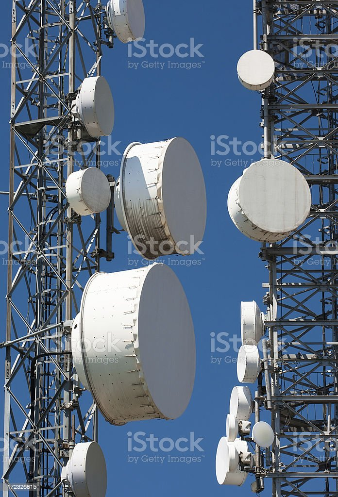 telecommunication station royalty-free stock photo