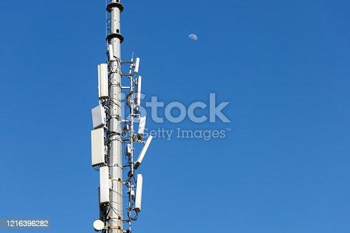 5G Telecommunications Base Station Tower