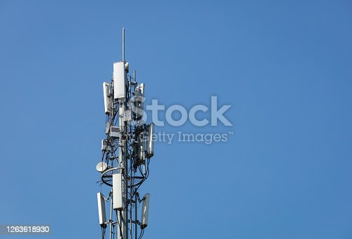 5G Telecommunications Base Station Tower