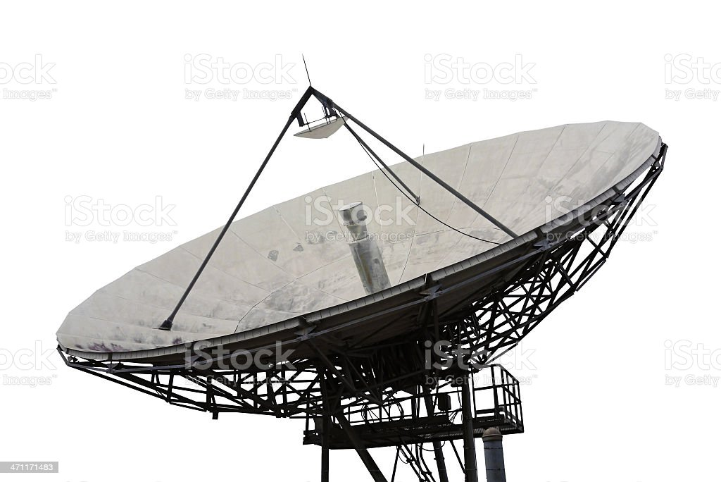 Telecommunications Satellite royalty-free stock photo