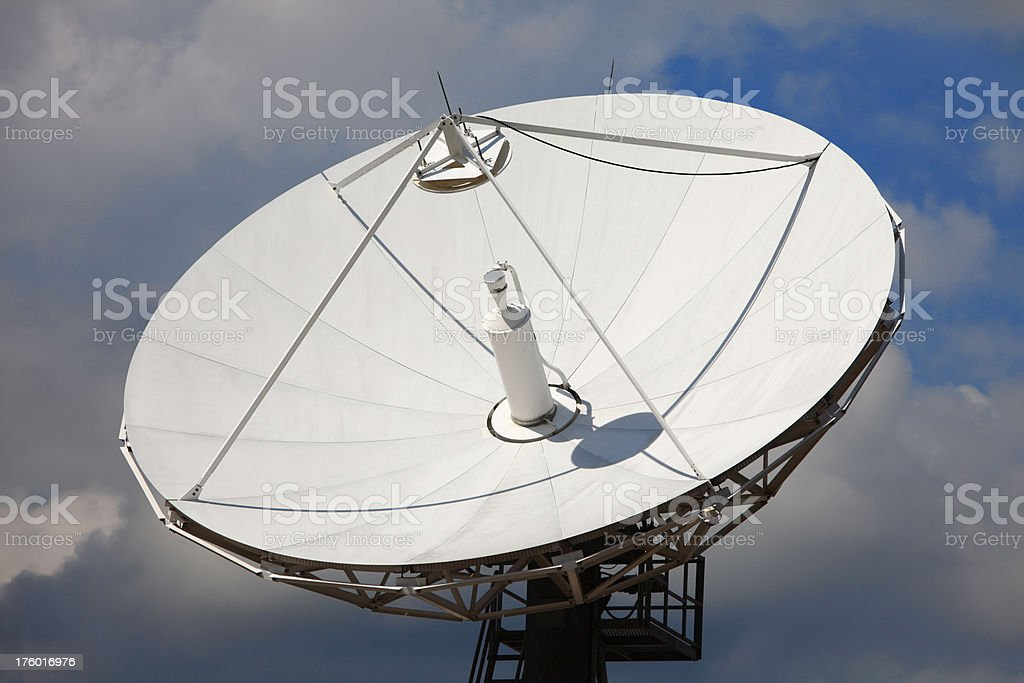 Telecommunications Satellites (XXXL) royalty-free stock photo