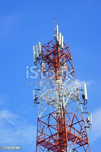 Antenna - Aerial, Blue, Broadcasting, Built Structure, Clear Sky