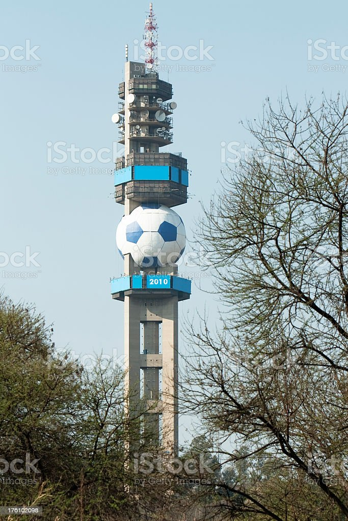 Telecomunications Tower in Pretoria royalty-free stock photo