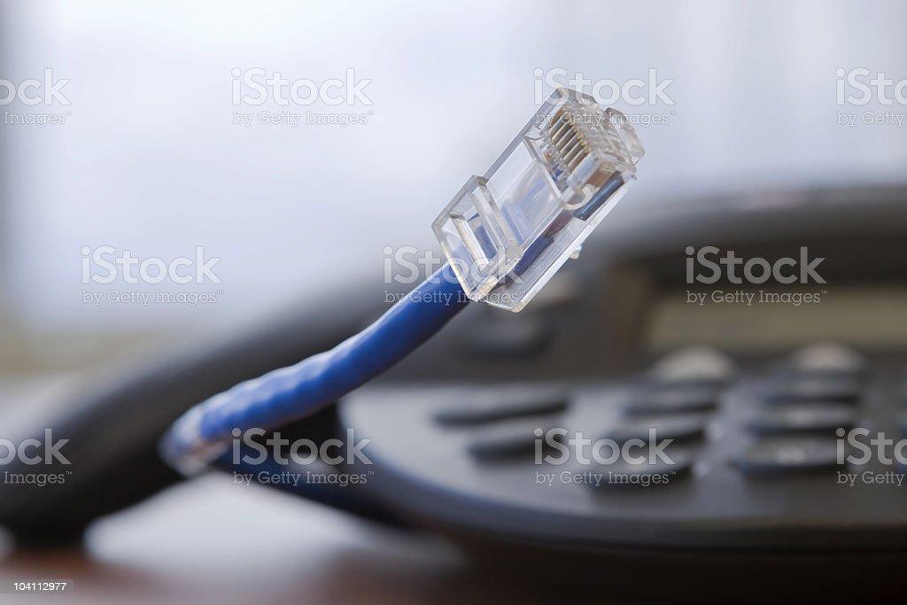 Teleconference Tech royalty-free stock photo