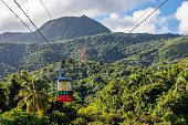 Puerto Plata, officially known as San Felipe de Puerto Plata, is the ninth-largest city in the Dominican Republic. The Teleferico cable car was inaugurated in 1975 and offers the visitor a panoramic view of the city descending from the hill (779 m above sea level).