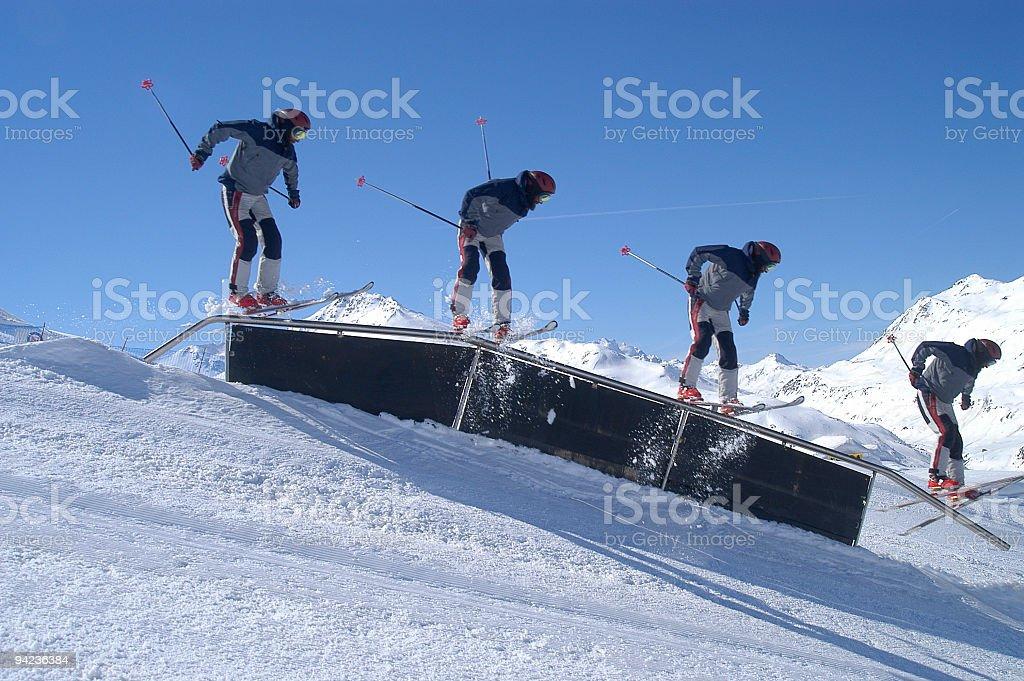 Telemark Rail stock photo