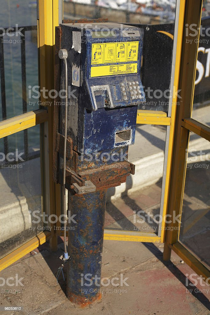 Telephone booth - Royalty-free Booth Stock Photo