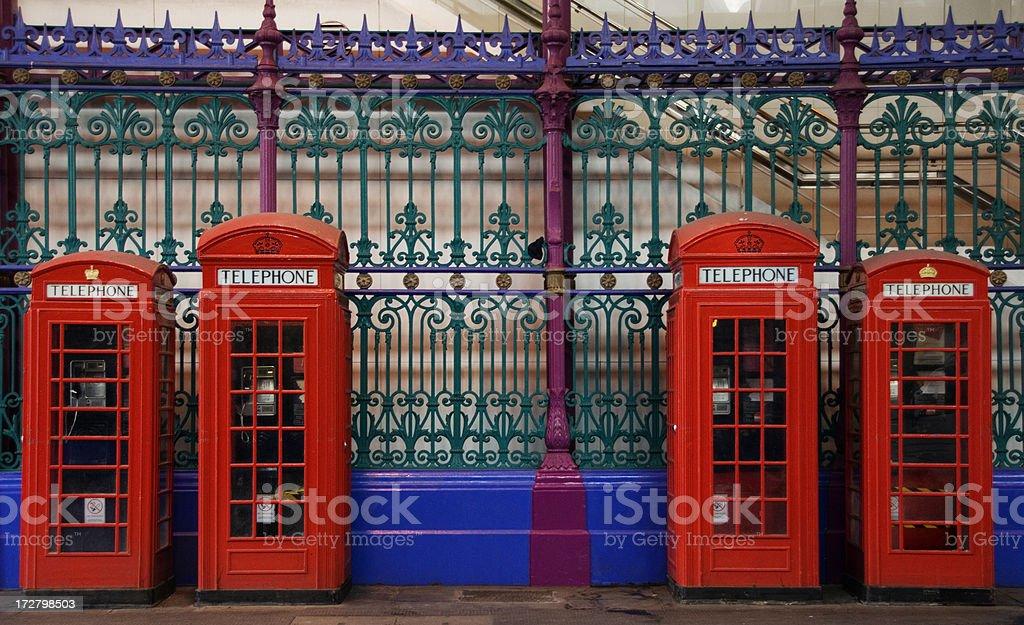 Telephone Box royalty-free stock photo