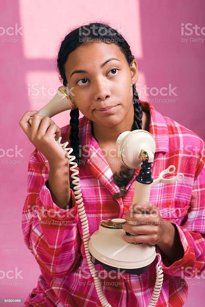 Telephone Busy Signal stock photo