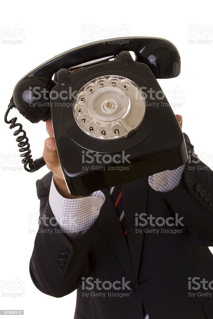 Telephone call for you! royalty-free stock photo