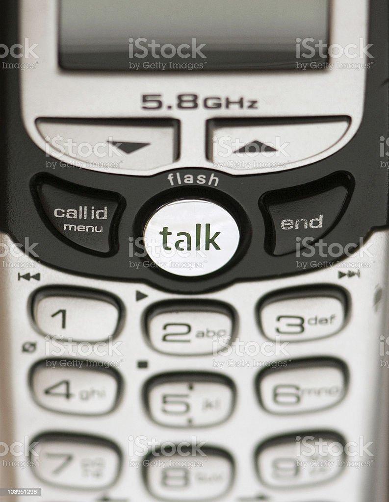 Telephone Close up stock photo