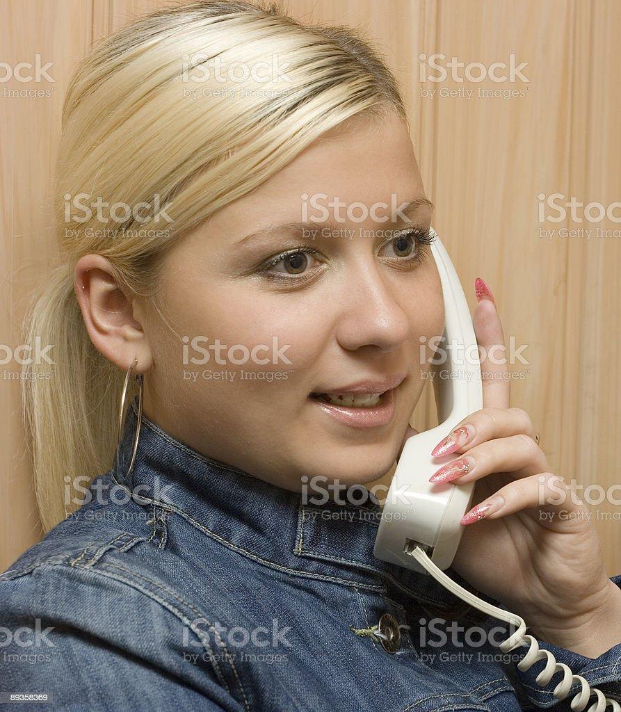 Rozmowy telefoniczna zbiór zdjęć royalty-free