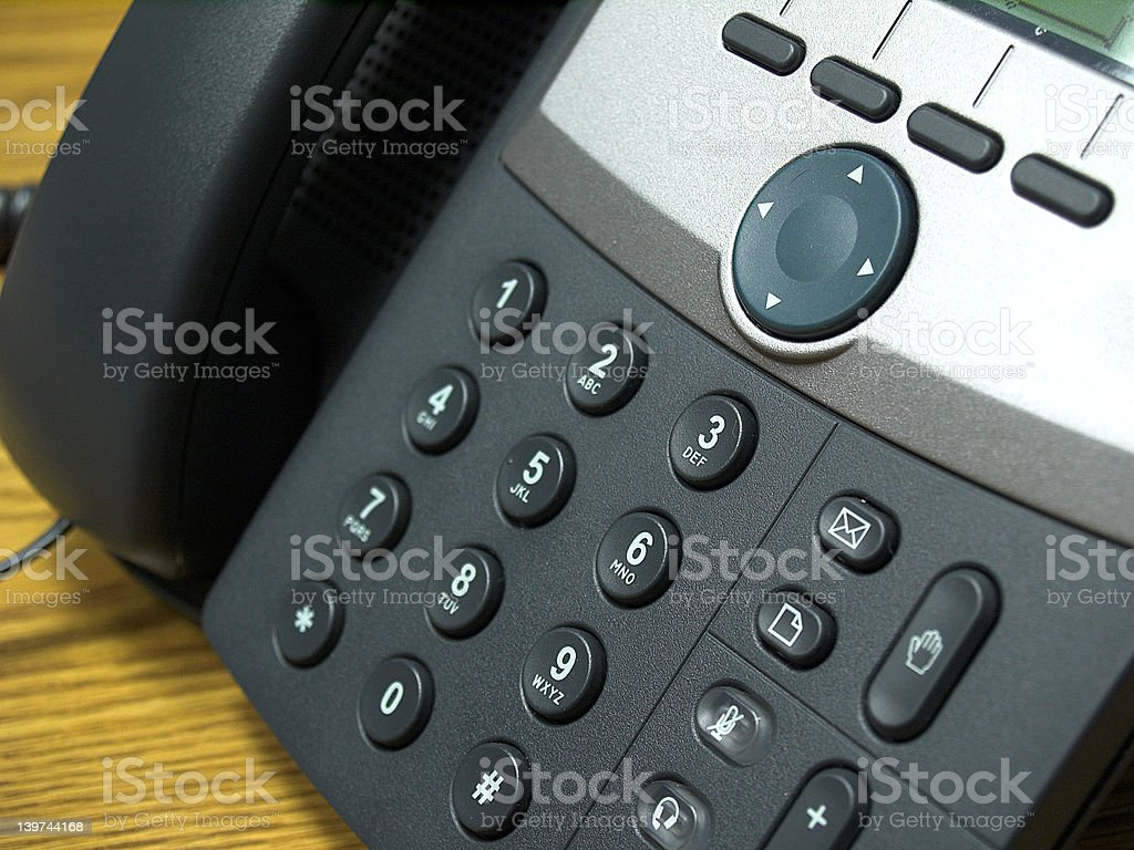 Tastiera telefonica 2 - foto stock