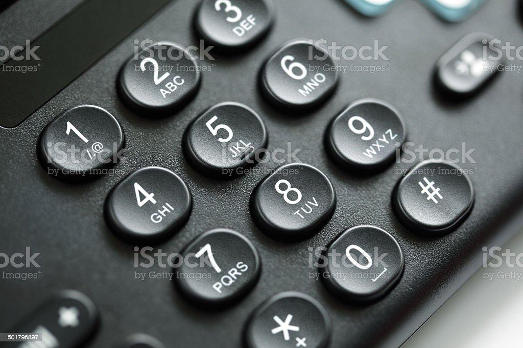 Telefon-Tastatur – Foto