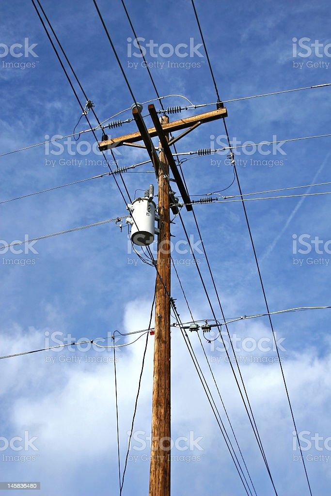 Telephone Pole Stock Photo - Download Image Now - iStock
