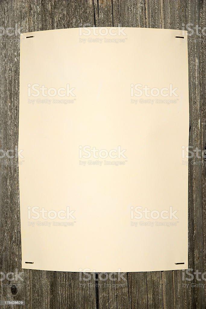 Telephone Pole Poster royalty-free stock photo
