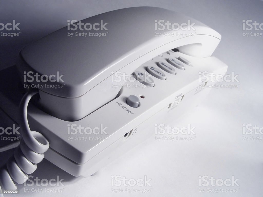 Telephone Side View - Royalty-free Abstract Stock Photo