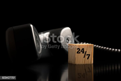 istock 24-7 telephone support and assistance 523427701