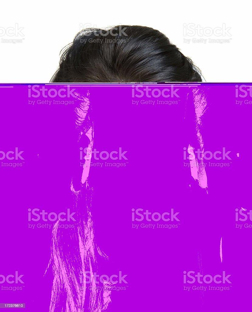 telephonist stock photo