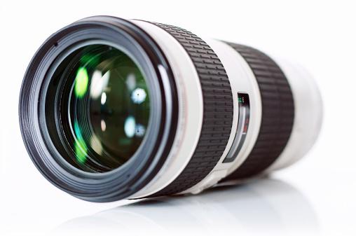 Camera telezoom lens