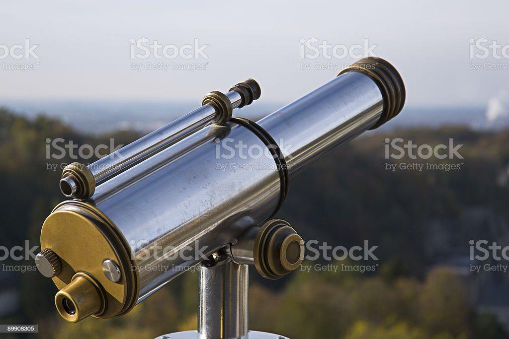 telescope 1 royalty-free stock photo