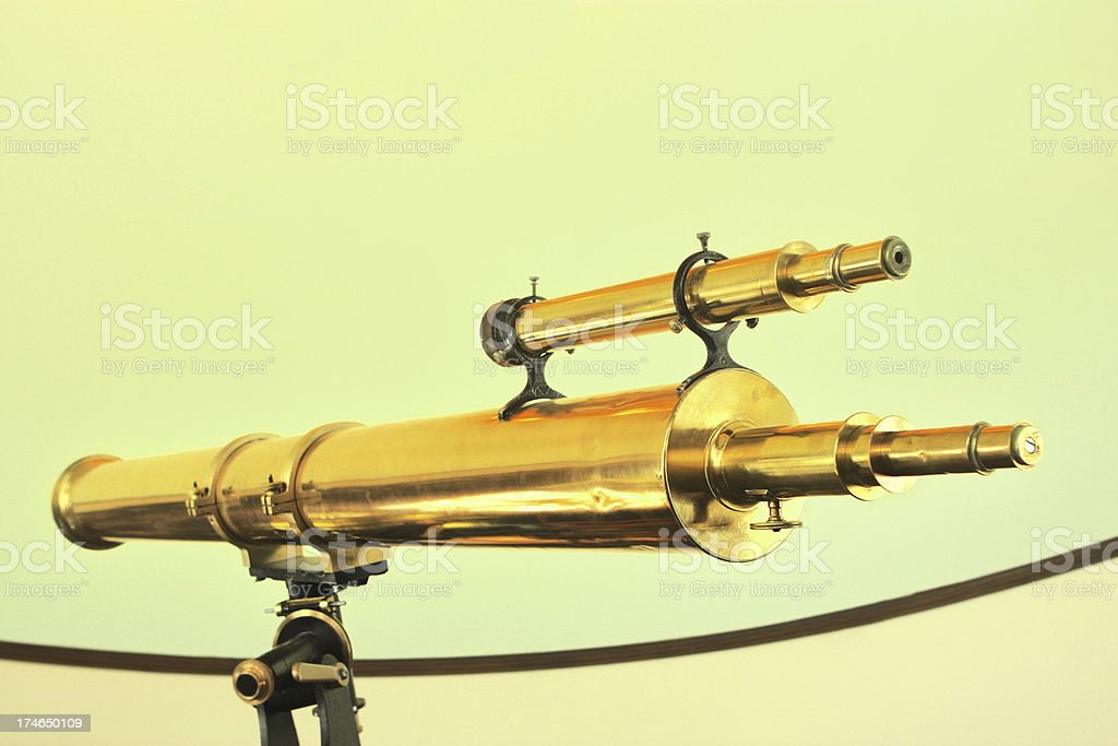 Telescope Astronomy Optical Instrument stock photo