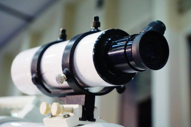 Telescope Astronomy Optical Instrument Lens - Optical Instrument, Equipment, Optical Instrument, Planet - Space, Space galileo galilei stock pictures, royalty-free photos & images