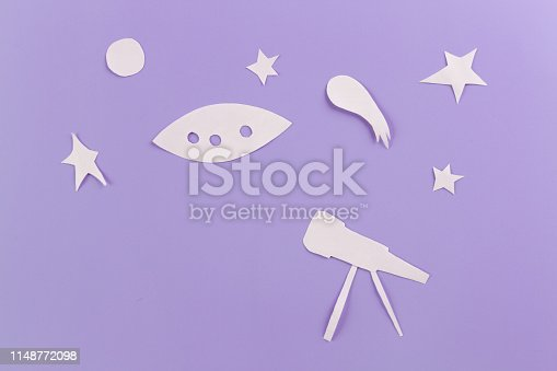 istock Telescope for astronomy 1148772098