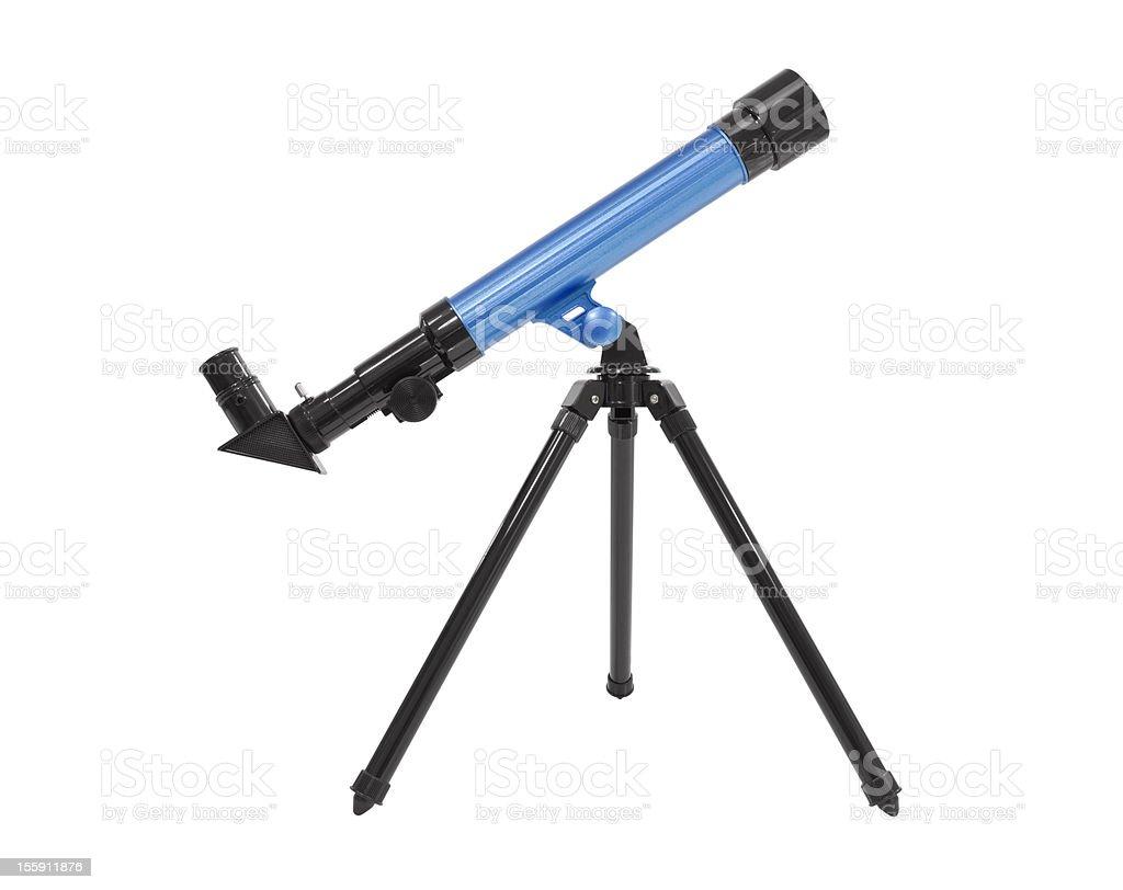 Telescope Isolated stock photo