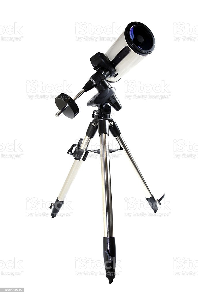 Telescope. stock photo