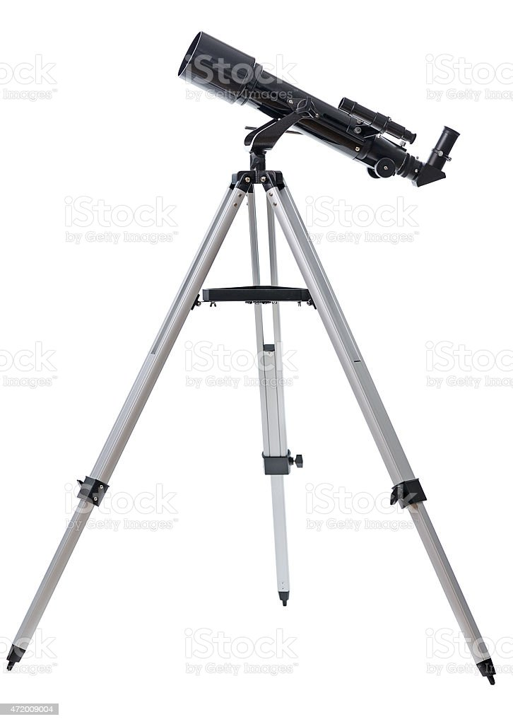telescope stock photo