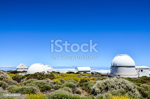 istock Telescopes of the Teide Astronomical Observatory 1284049002