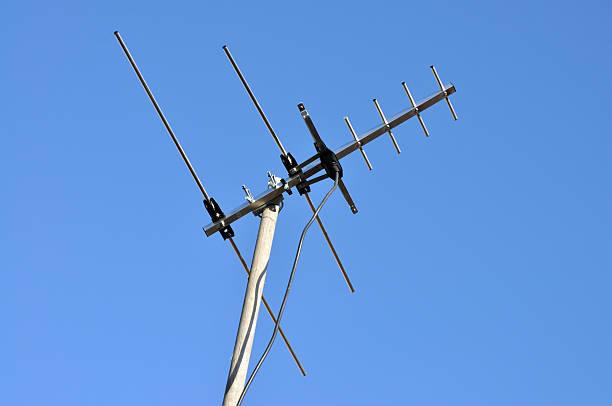 hd-tv-antenne - kostenlos tv stock-fotos und bilder