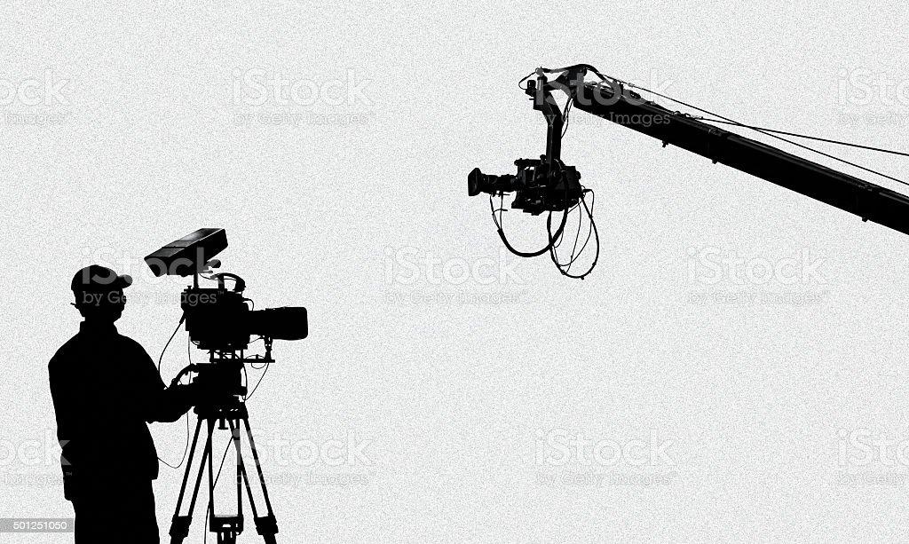 television broadcasting stock photo