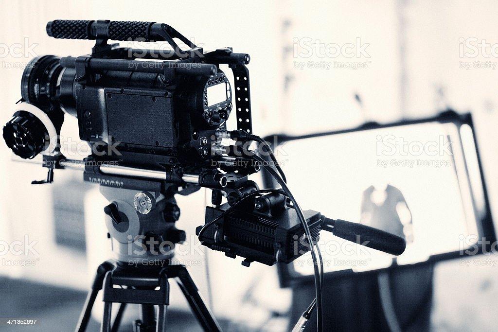 Cámara de televisión - foto de stock