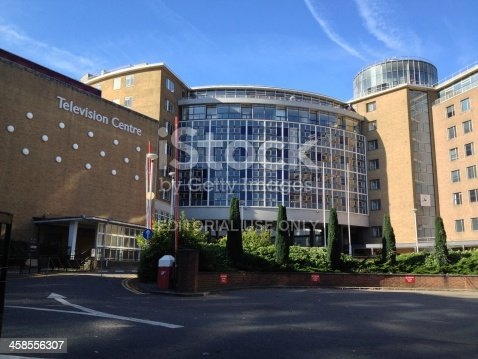 London UK - 6th October 2013 at 10:42am : The former Television Centre building which house the BBC from 1960 to 2013. Parts of the of the building are Grade II listed and the site has been sold to Stanhope PLC for redevelopment.