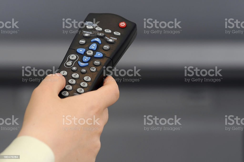 television control royalty-free stock photo