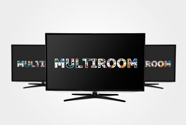 tv-technologie. - 4k led tv stock-fotos und bilder