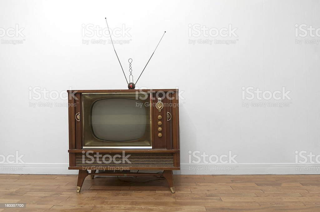 Television royalty-free stock photo