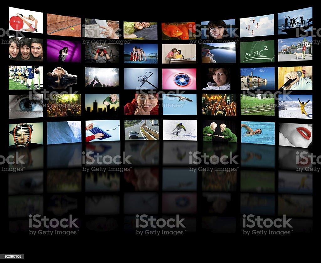 Fernsehproduktion-Konzept – Foto