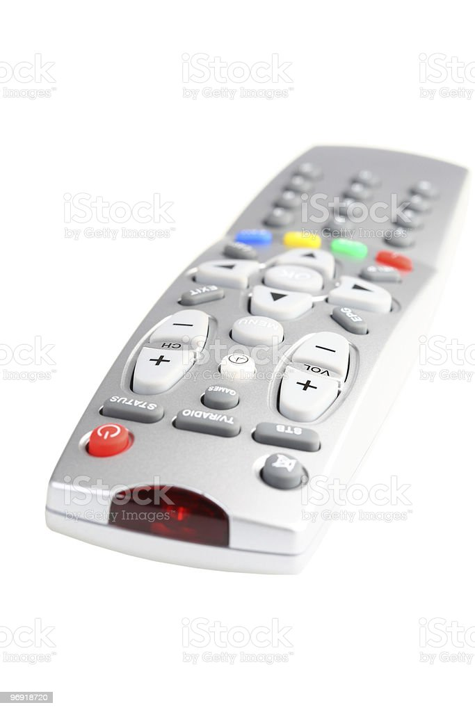 Television remote control. royalty-free stock photo